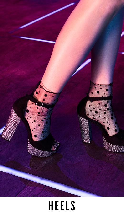 8b9ef9b0d9c High Heels | Platform Heels, Pump Heels, Print & Nude Heels | boohoo